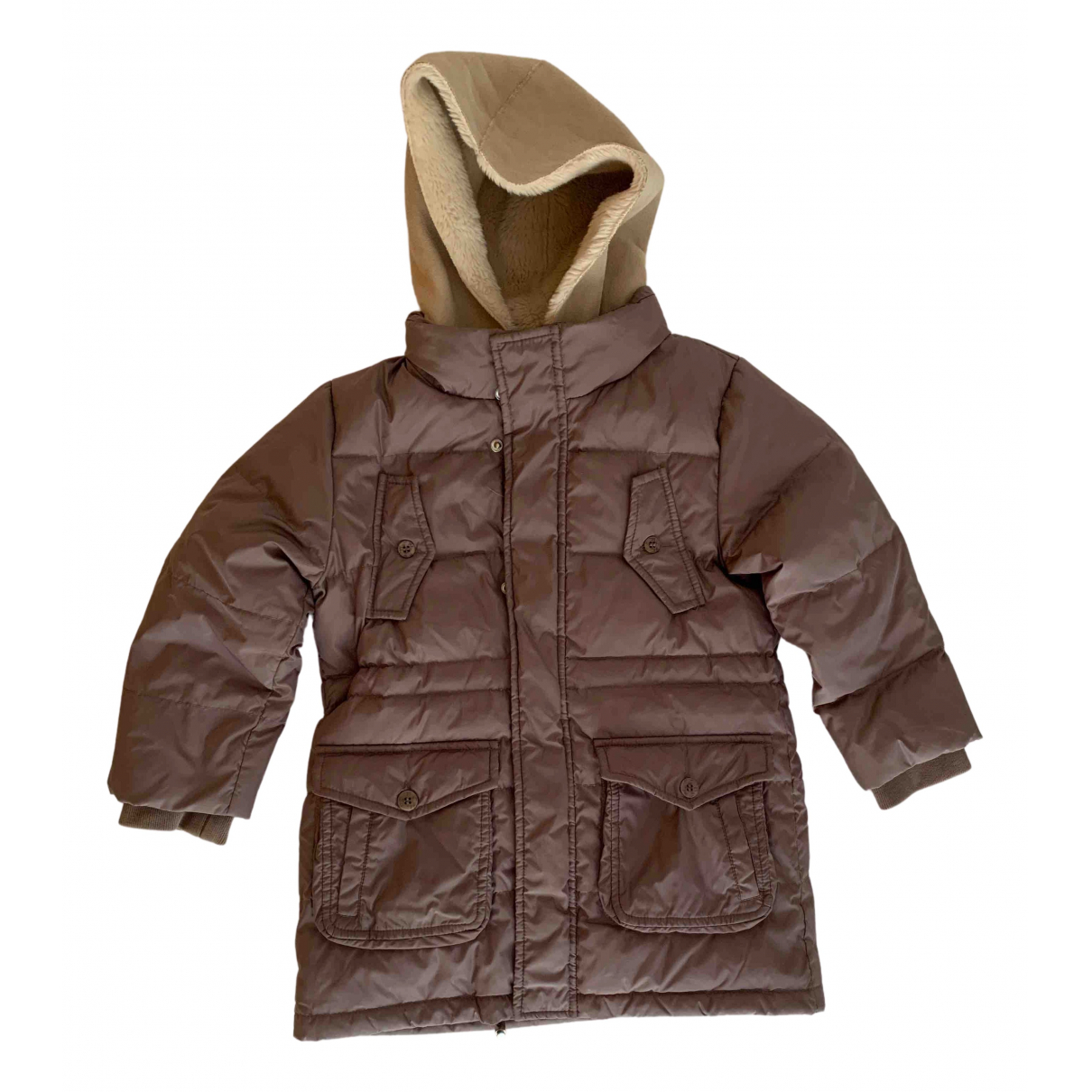 Il Gufo - Blousons.Manteaux   pour enfant en eponge - beige