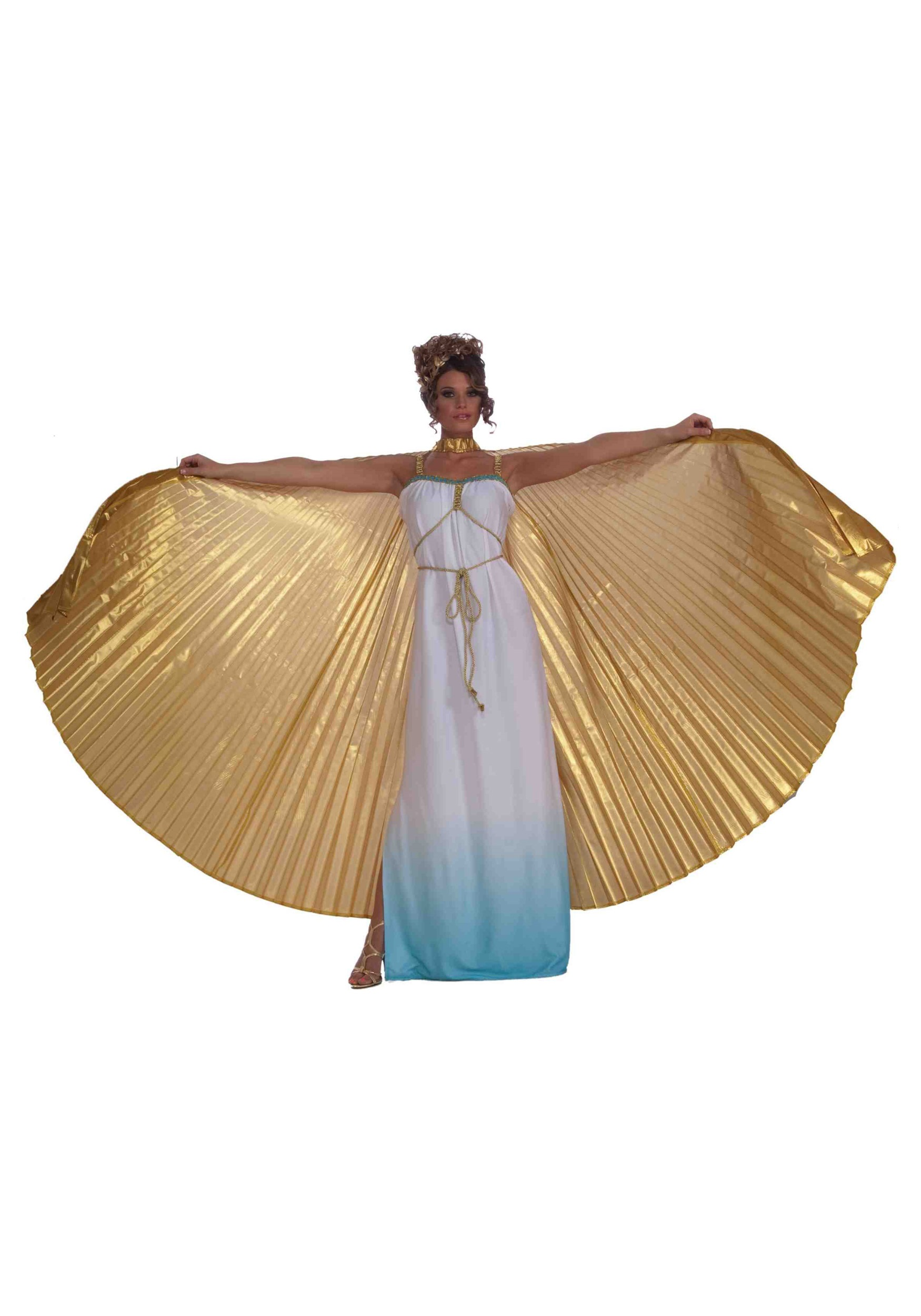 Gold Theatrical Wings Costume Accessory