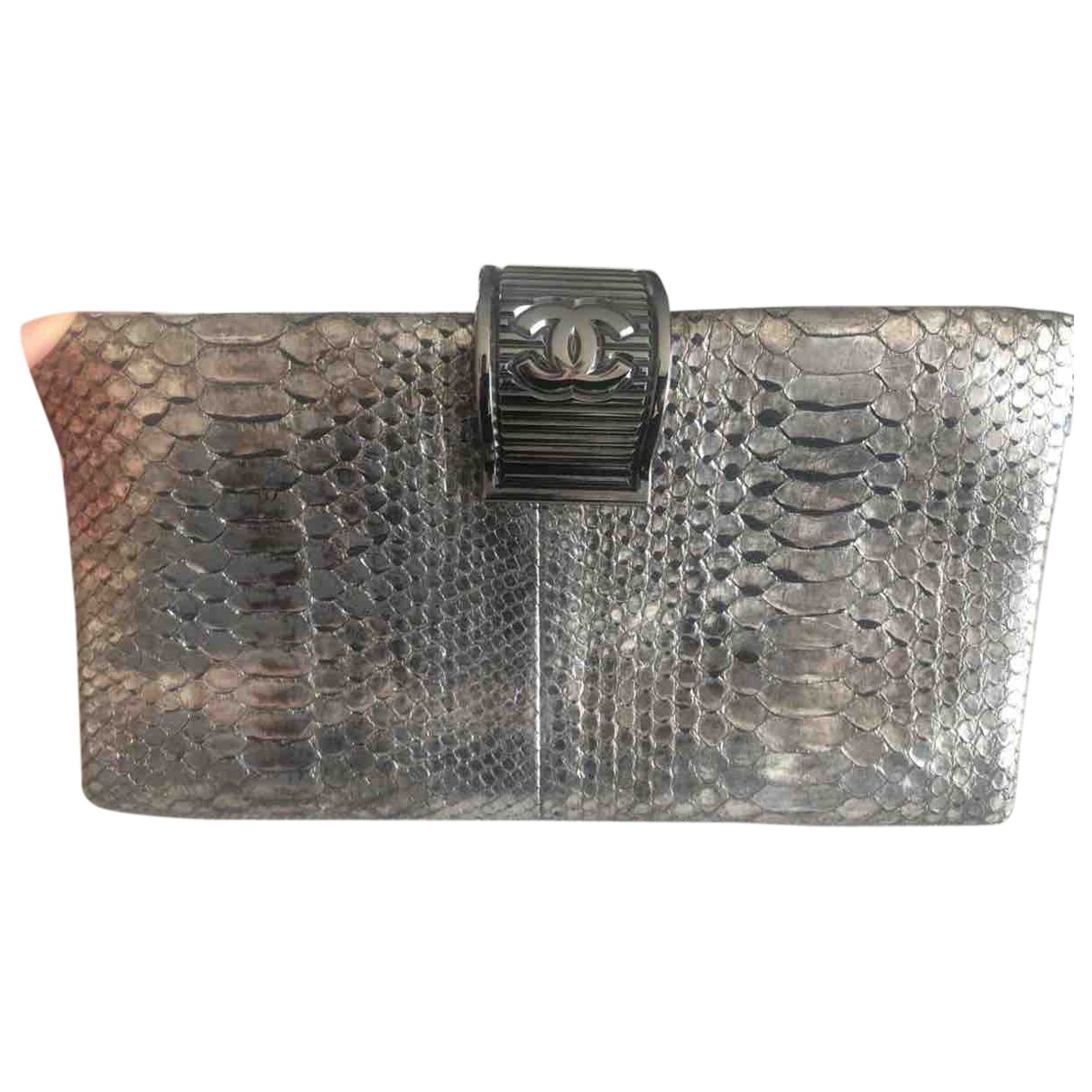 Chanel Timeless/Classique Metallic Python Clutch bag for Women \N