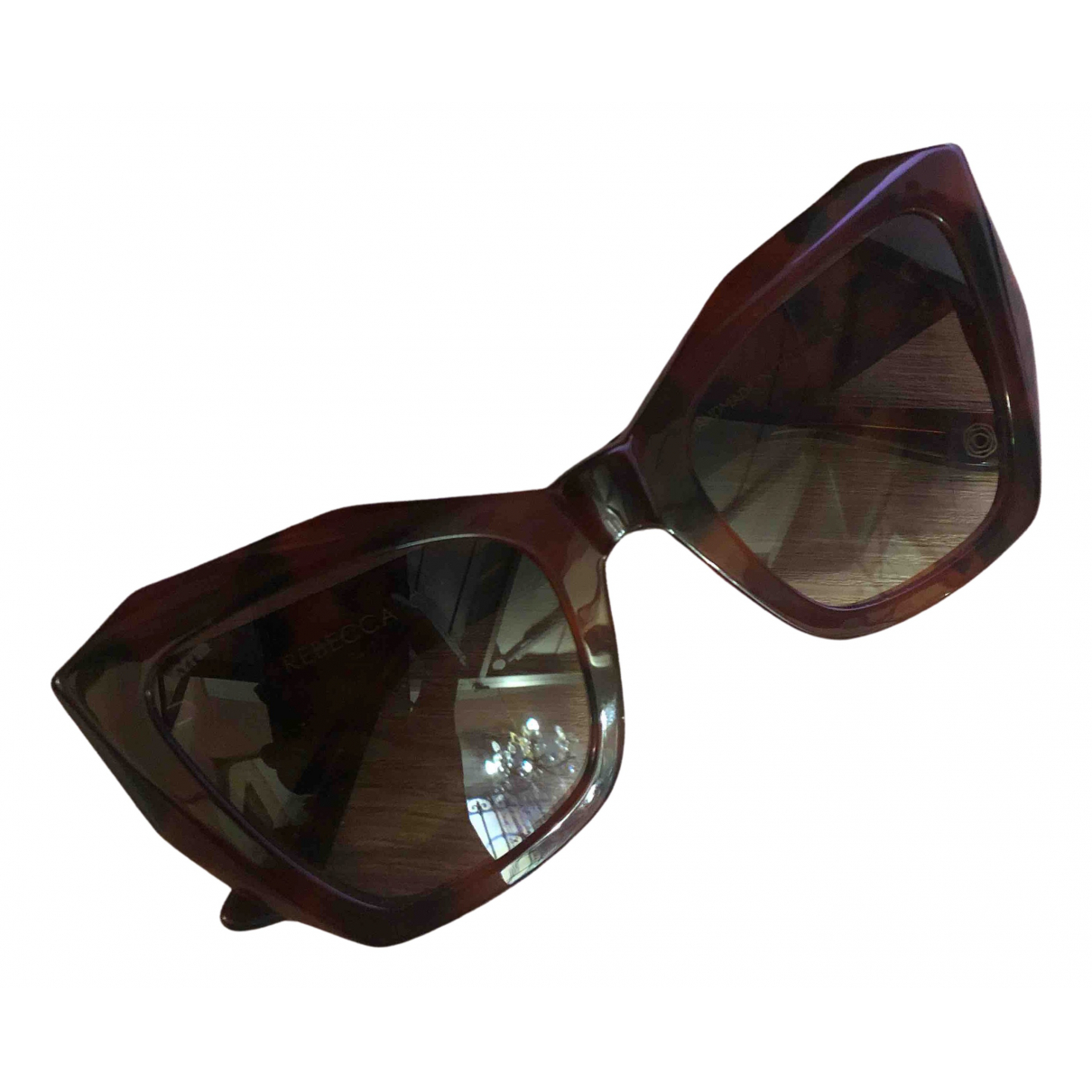 Kyme \N Brown Sunglasses for Women \N