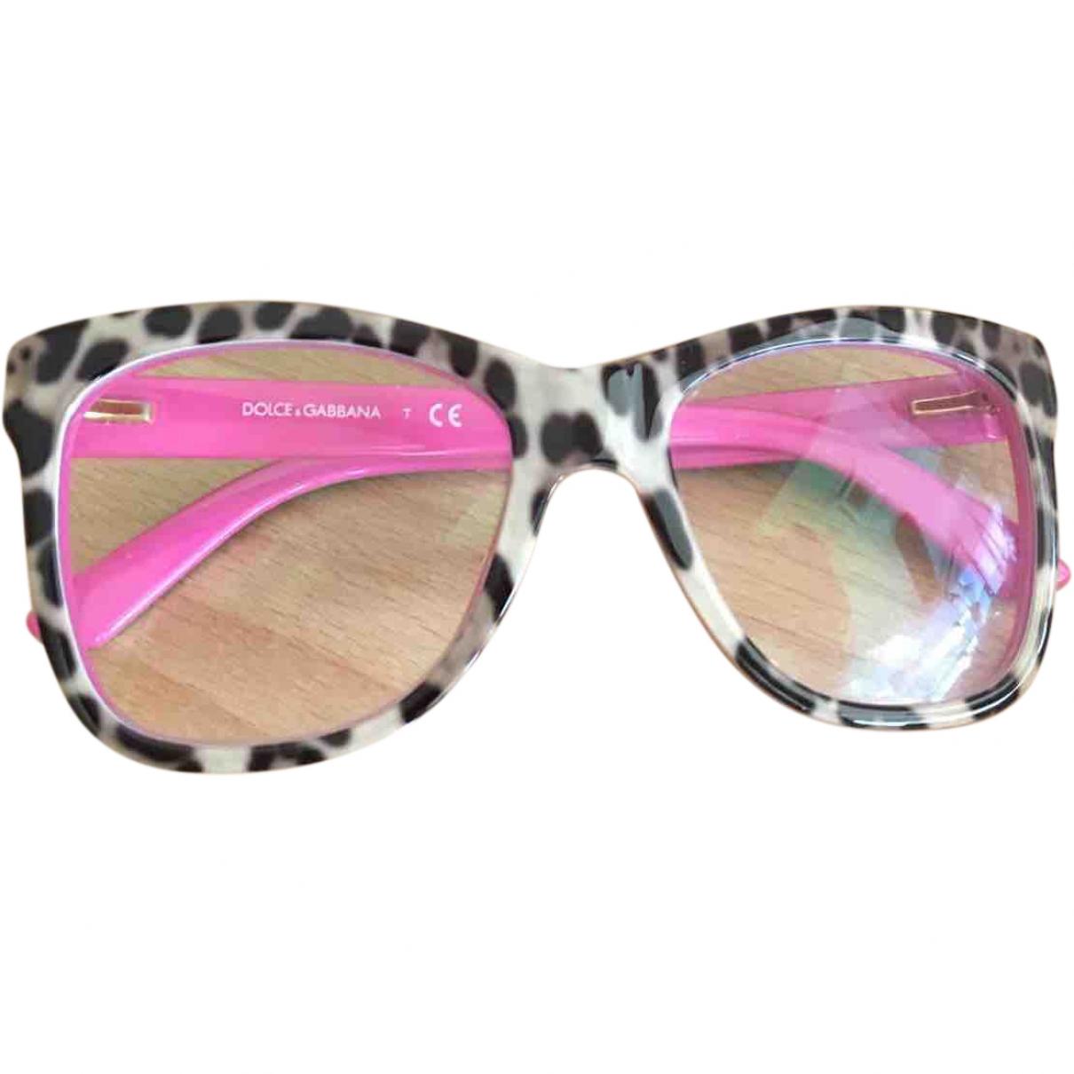 Dolce & Gabbana \N Sonnenbrillen in  Rosa Kunststoff