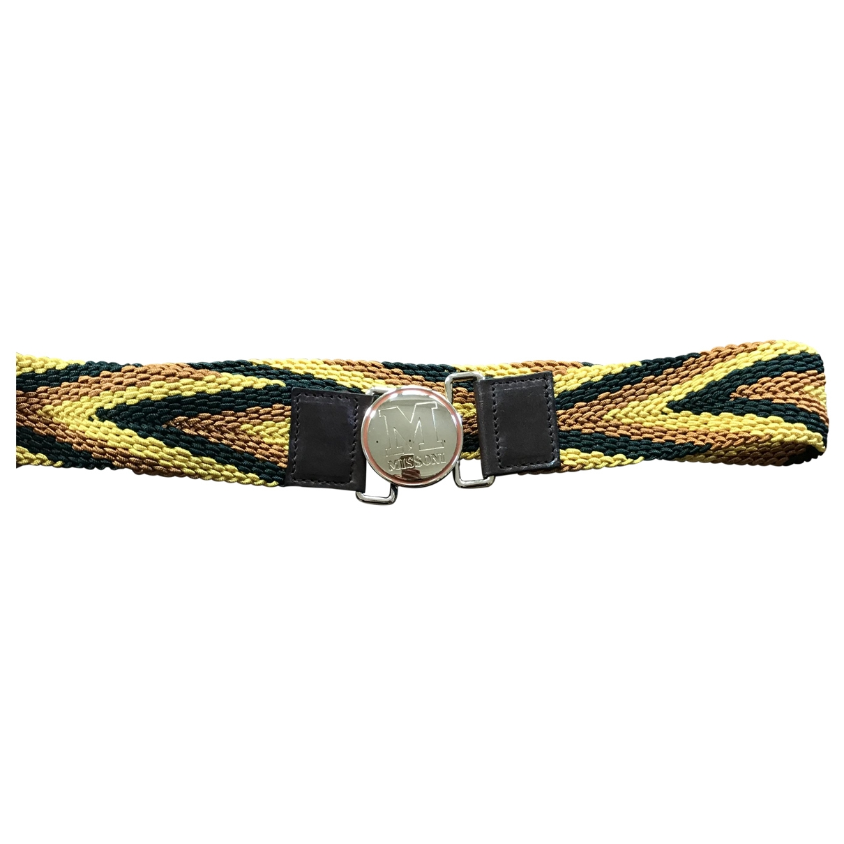 M Missoni \N Multicolour Cloth belt for Women S International