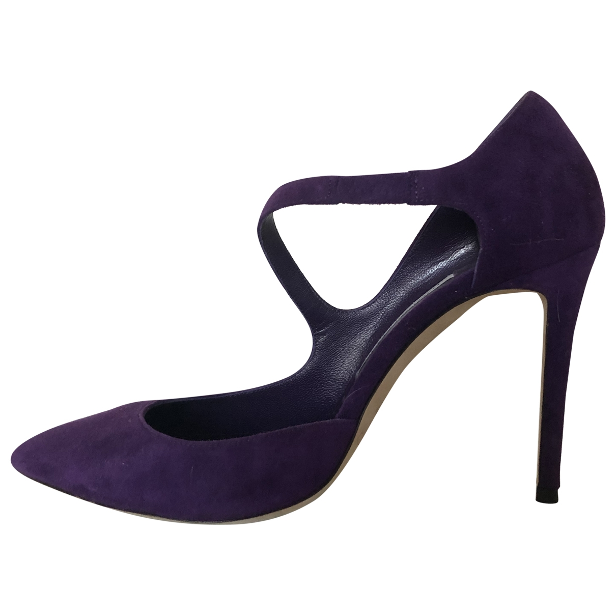 Jimmy Choo \N Pumps in  Lila Veloursleder
