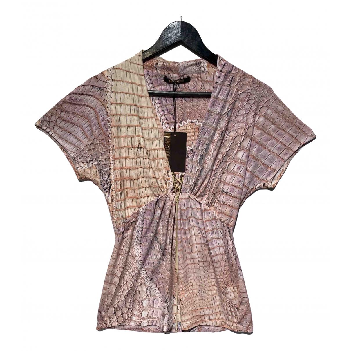 Roberto Cavalli \N Pink  top for Women 46 IT