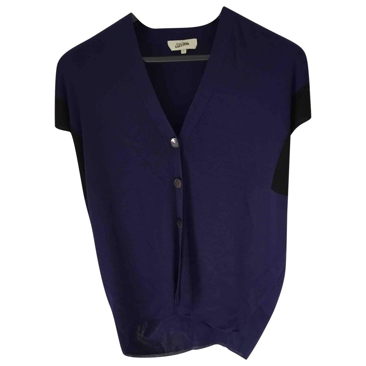 Jean Paul Gaultier \N Blue Knitwear for Women L International