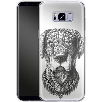Samsung Galaxy S8 Plus Silikon Handyhuelle - Labrador von BIOWORKZ