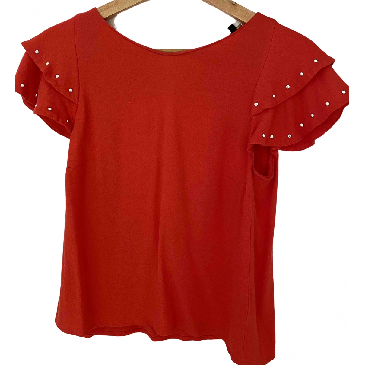 Maje \N Orange  top for Women 36 FR