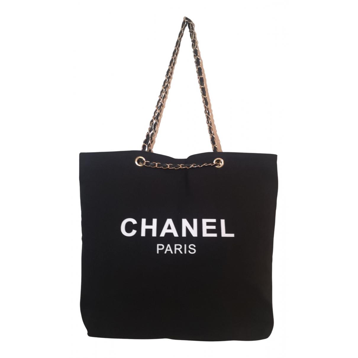 Chanel \N Black Cotton handbag for Women \N