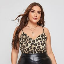Cami Top mit Leopard Muster