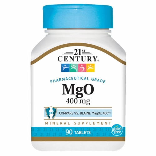 Magnesium Oxide 90 Tabs by 21st Century