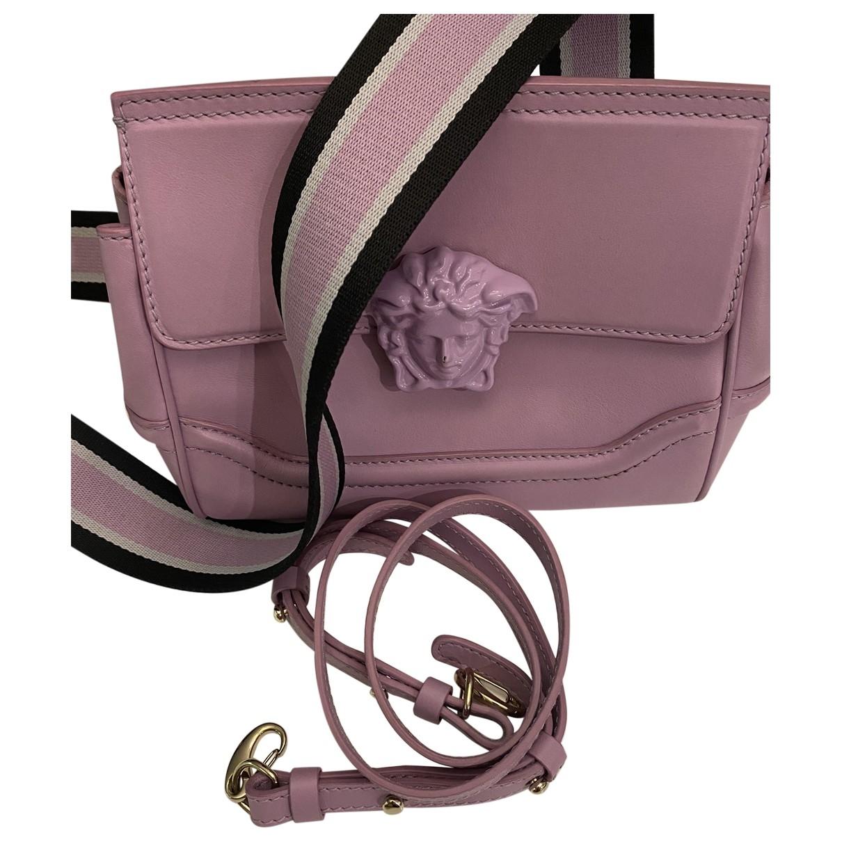 Versace \N Handtasche in  Lila Leder