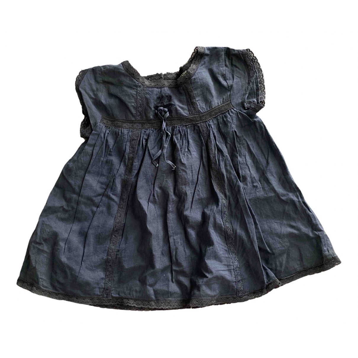 Zadig & Voltaire N Anthracite Cotton dress for Kids 6 months - up to 67cm FR