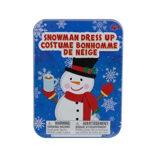 Christmas Snowman Magnetic Dress Up Set By Creatology™ | Michaels®