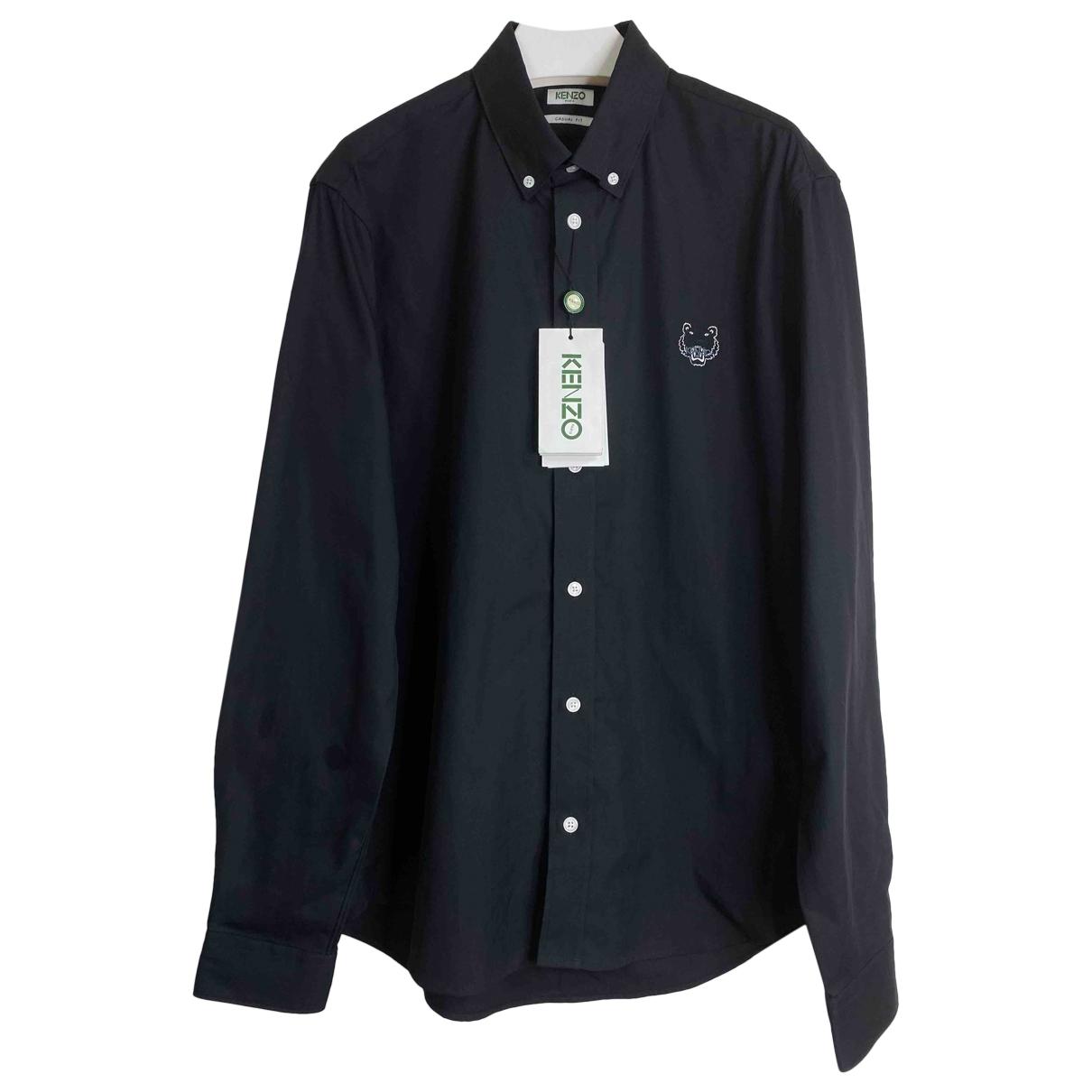 Kenzo \N Black Cotton Shirts for Men M International