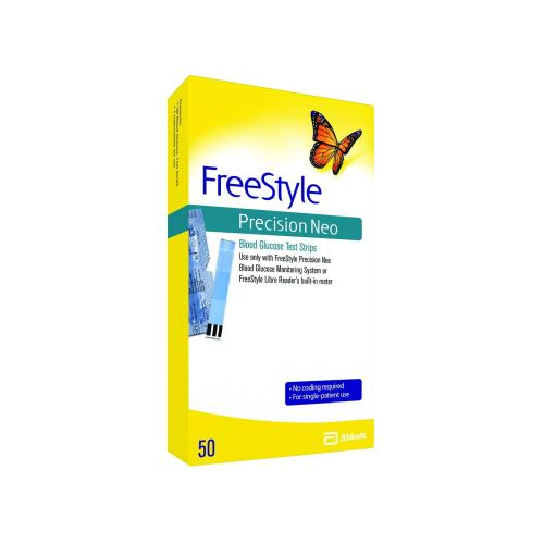 FreeStyle Precision Neo Blood Glucose Test Strips 25 Each by Freestyle