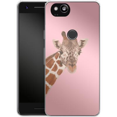 Google Pixel 2 Silikon Handyhuelle - Giraffe Pride von Mukta Lata Barua