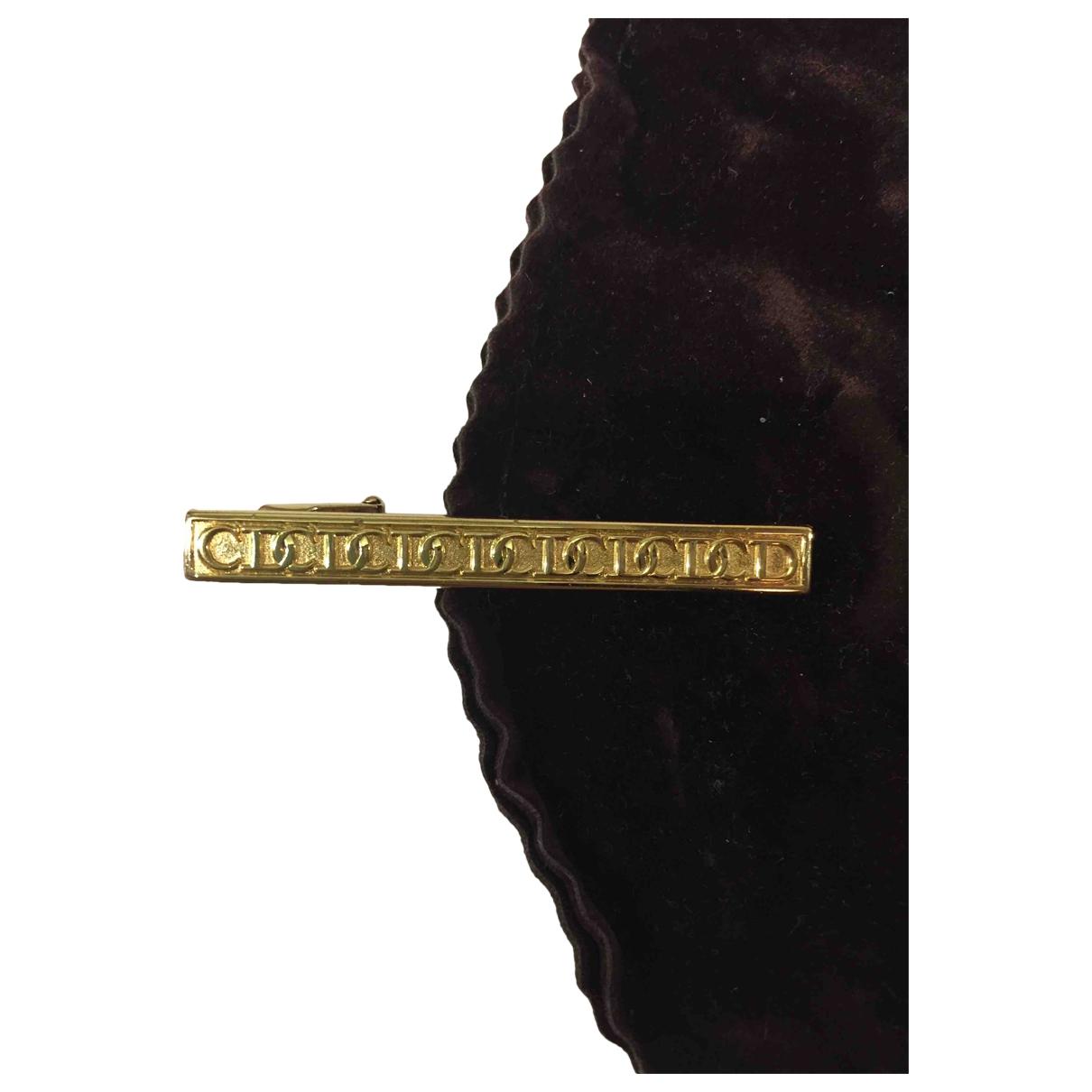 Dior - Boutons de manchette   pour homme en acier - dore