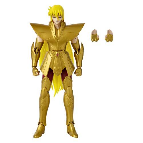Saint Seiya: Knights of the Zodiac Anime Heroes Virgo Shaka 6 1/2-Inch Action Figure