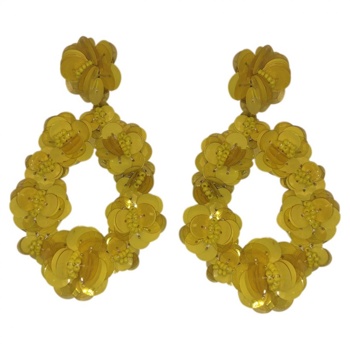 J.crew - Boucles doreilles   pour femme en verre - jaune