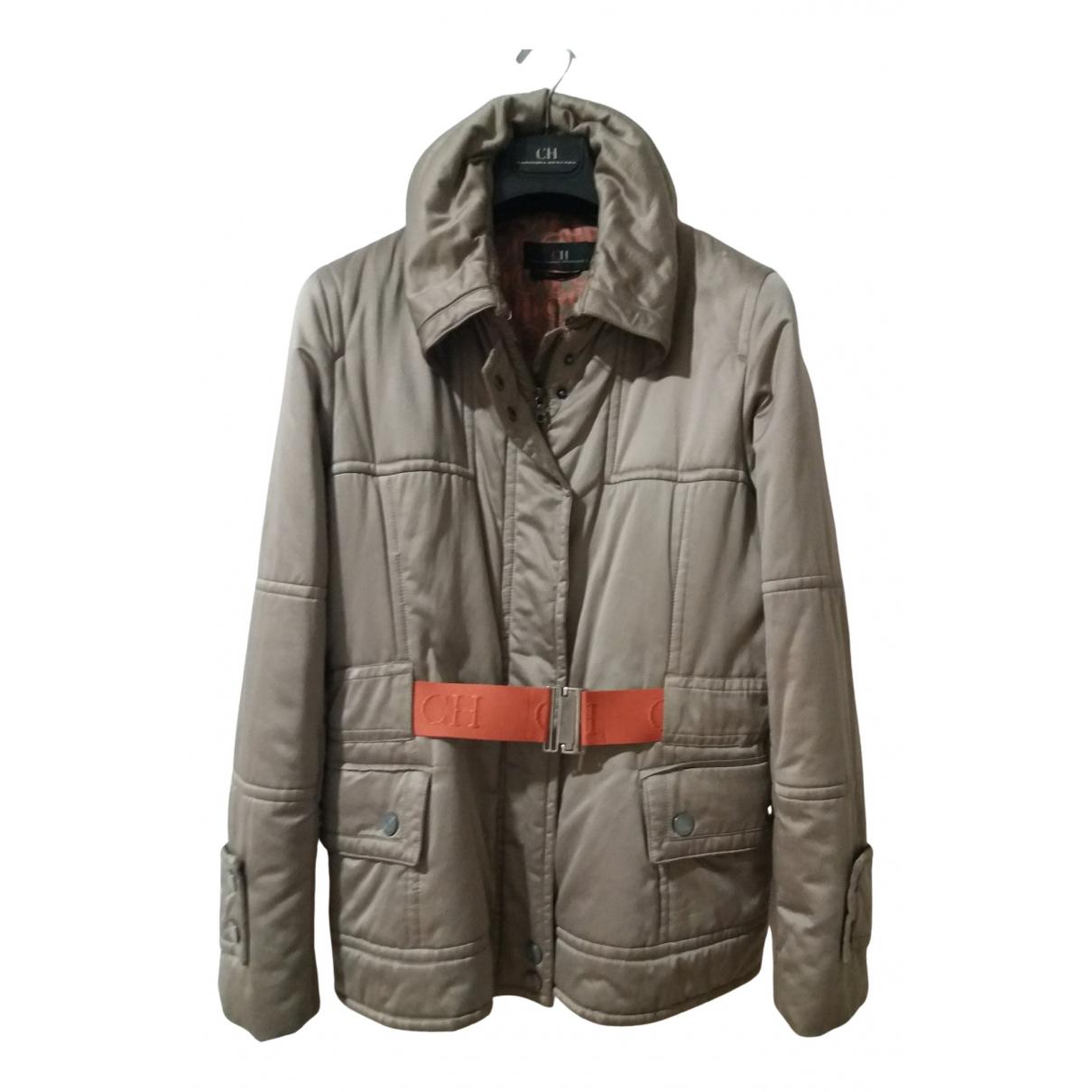 Carolina Herrera N Beige coat for Women 40 FR