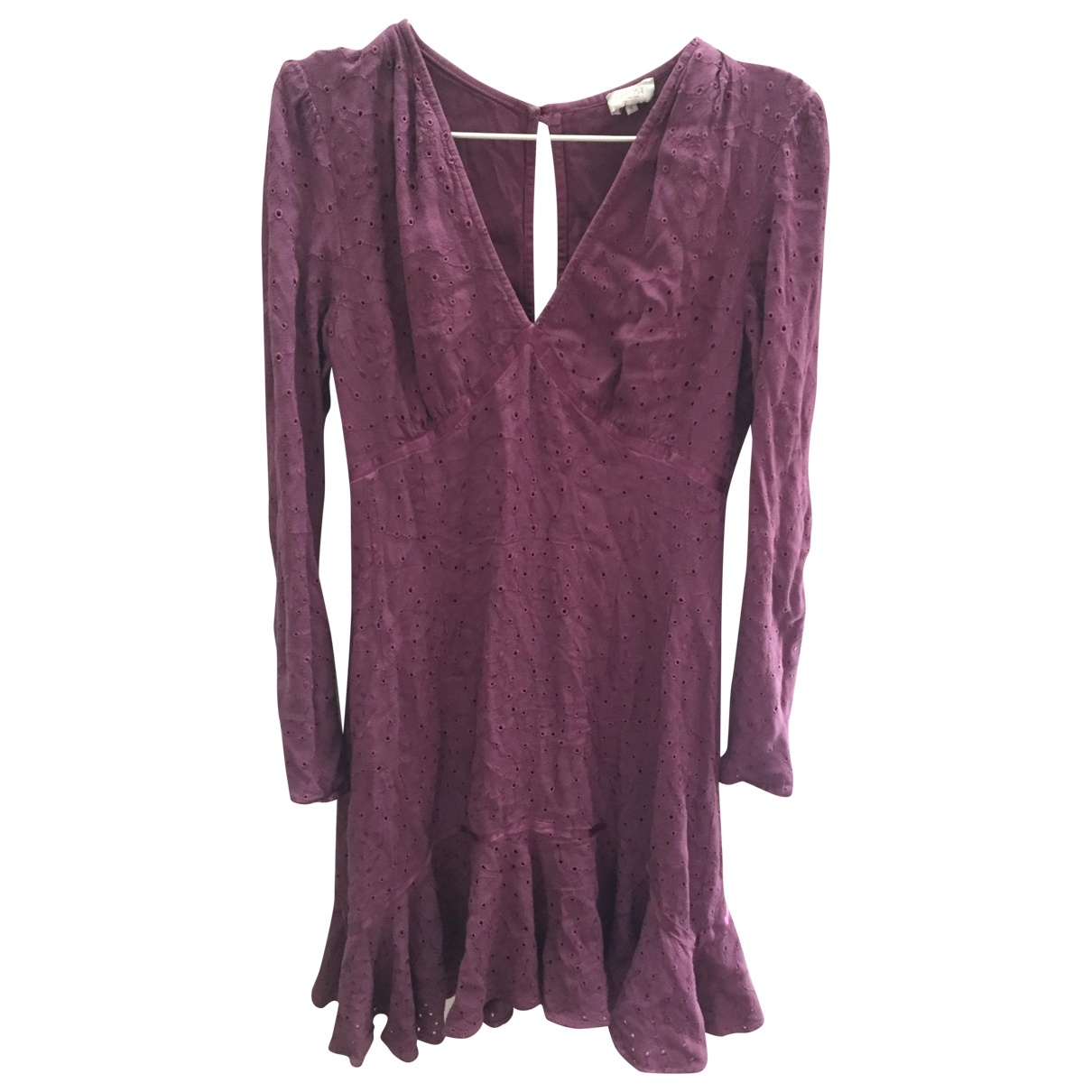 Ghost London \N Purple Linen dress for Women 8 UK
