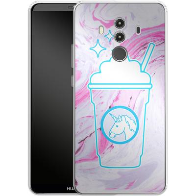 Huawei Mate 10 Pro Silikon Handyhuelle - Unicorn Frappuccino von caseable Designs