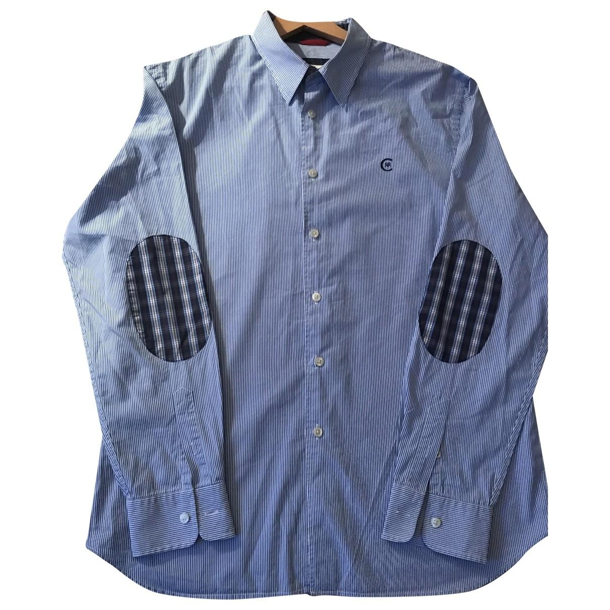 Cerruti \N Hemden in  Blau Baumwolle