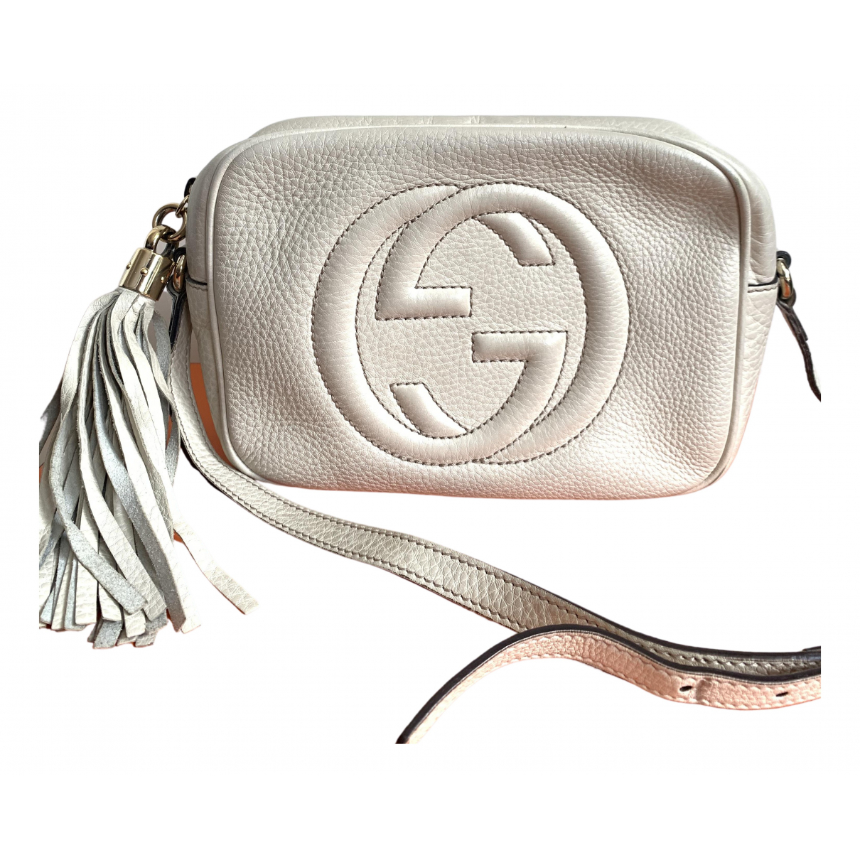 Gucci Soho White Leather handbag for Women \N