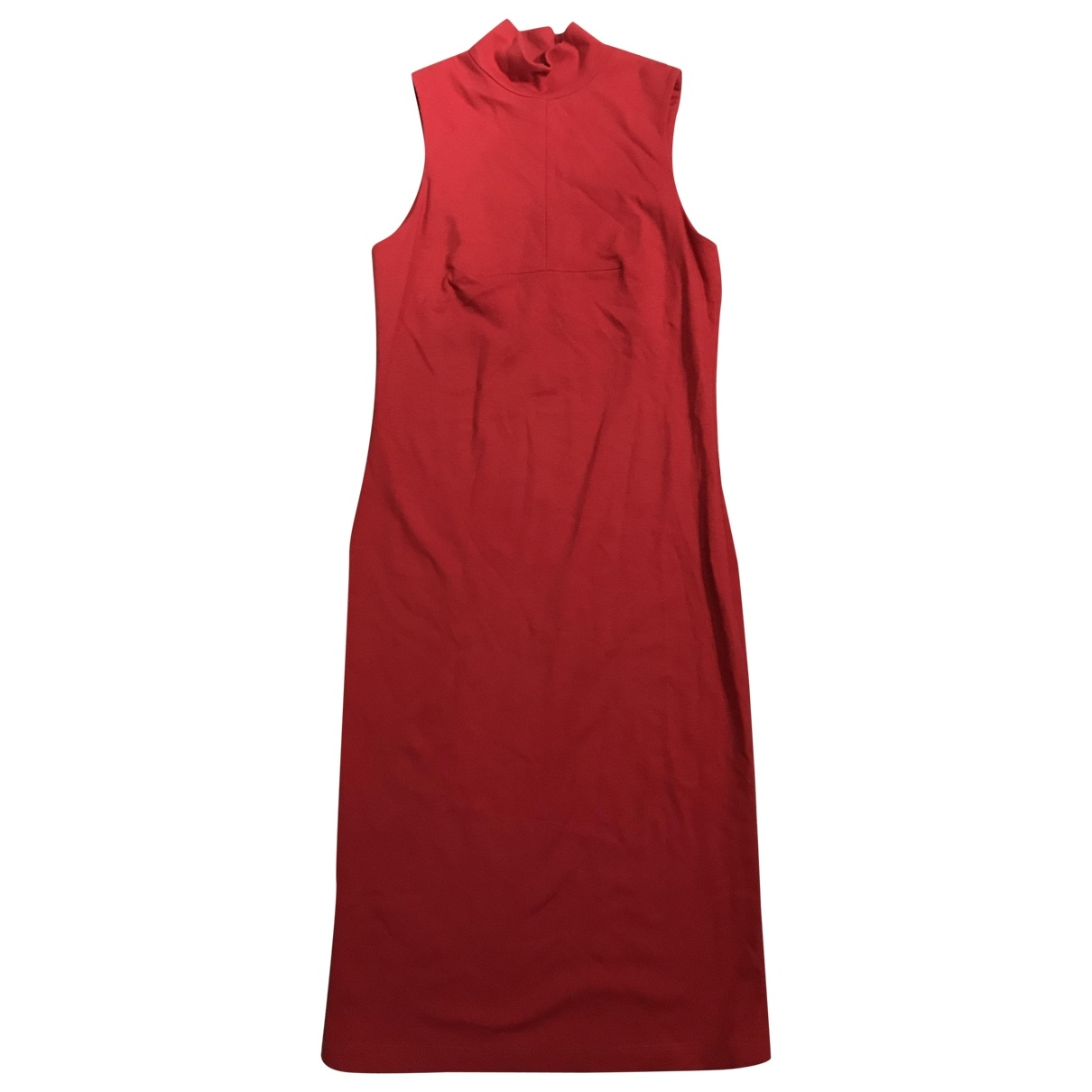 Versus \N Red Polyamide dress for Women 42 IT