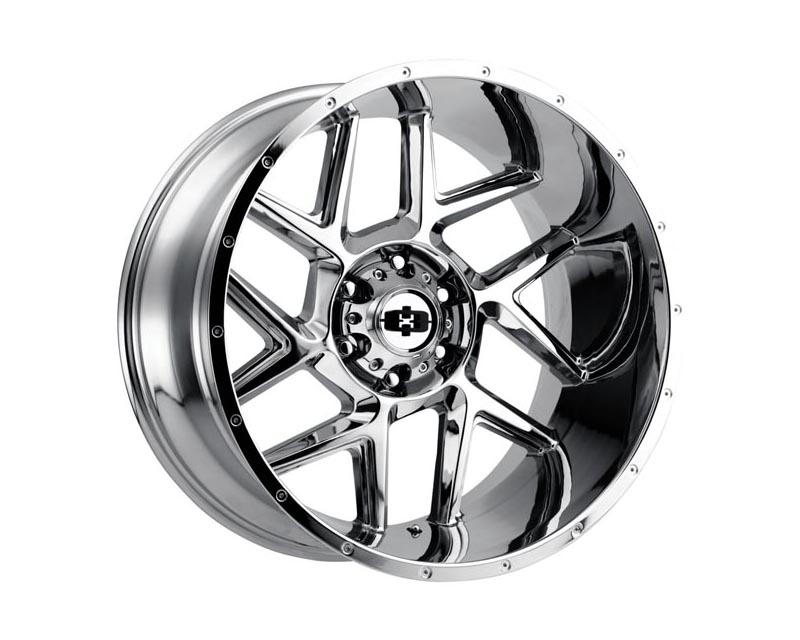 Vision Wheels 360-20081C-25 Sliver Wheel 20x10 8x165.10x25 CSCHXX Chrome