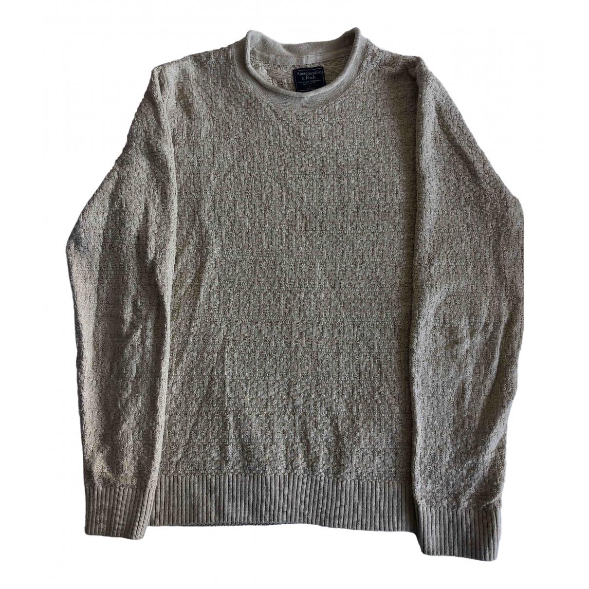 Abercrombie & Fitch \N Pullover.Westen.Sweatshirts  in  Gelb Baumwolle