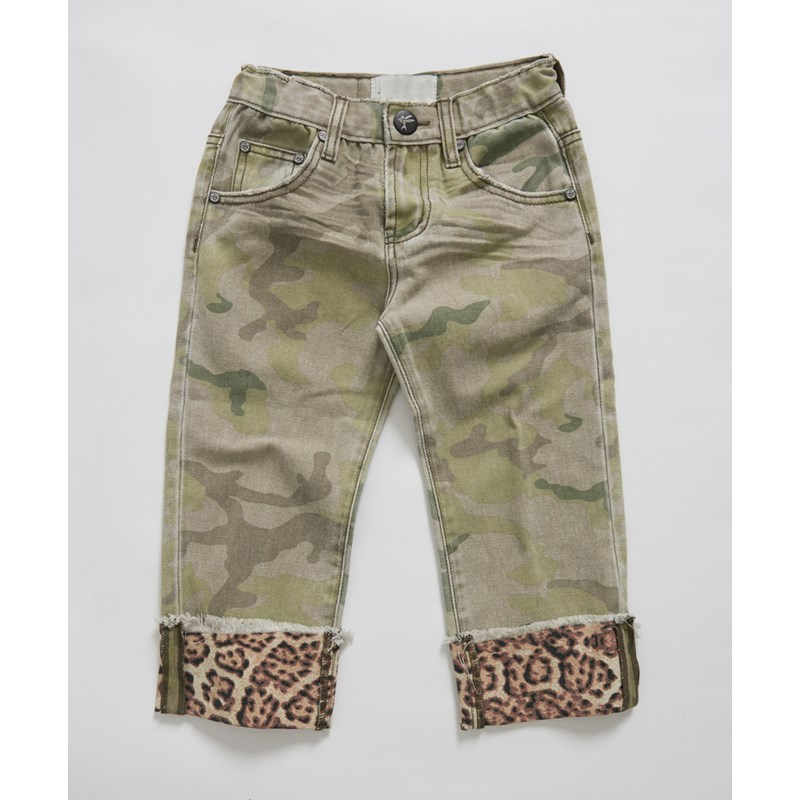 KIDS SAFARI CAMO BANDITS RELAXED JEAN