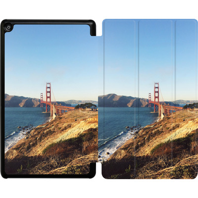 Amazon Fire HD 8 (2018) Tablet Smart Case - Golden Gate Galore von Omid Scheybani