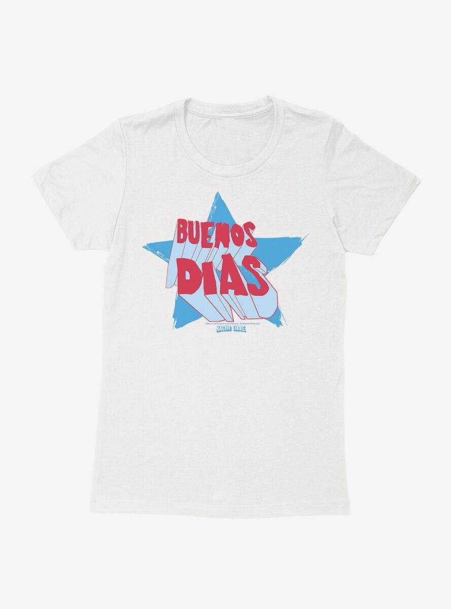 Nacho Libre Buenos Dias Womens T-Shirt