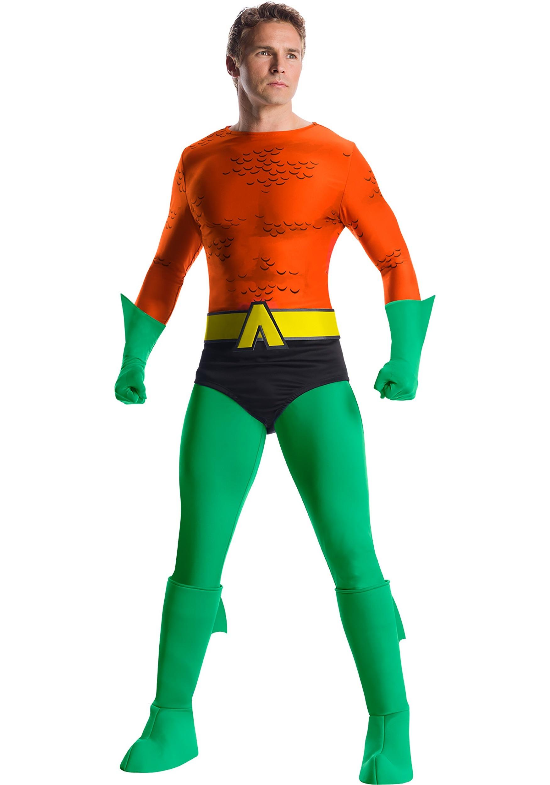 Classic Premium Aquaman Costume for Men