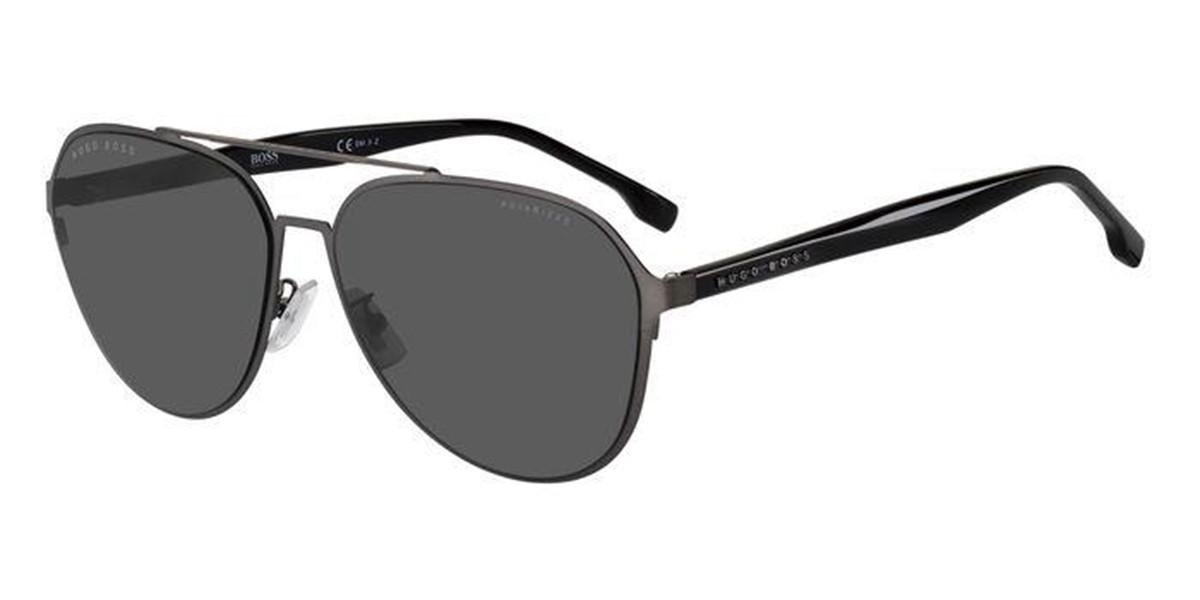 Boss by Hugo Boss Boss 1216/F/SK Asian Fit SVK/M9 Mens Sunglasses Grey Size 63