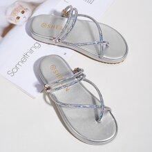 Kleinkind Maedchen Sandalen mit Zehenpfosten