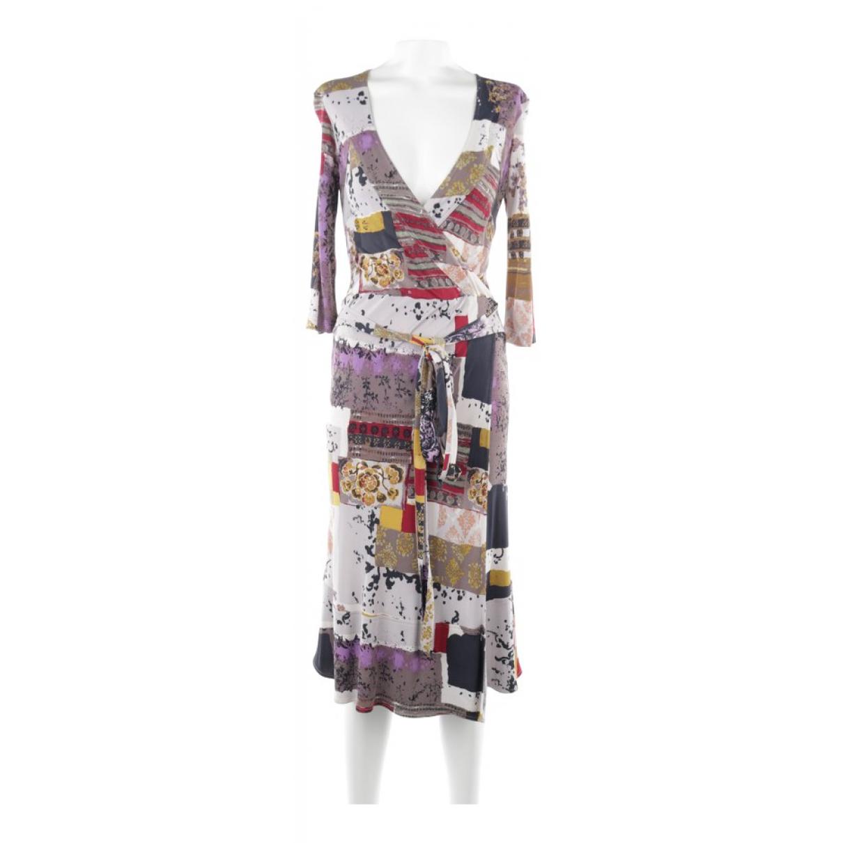 Etro \N Kleid in  Bunt Baumwolle