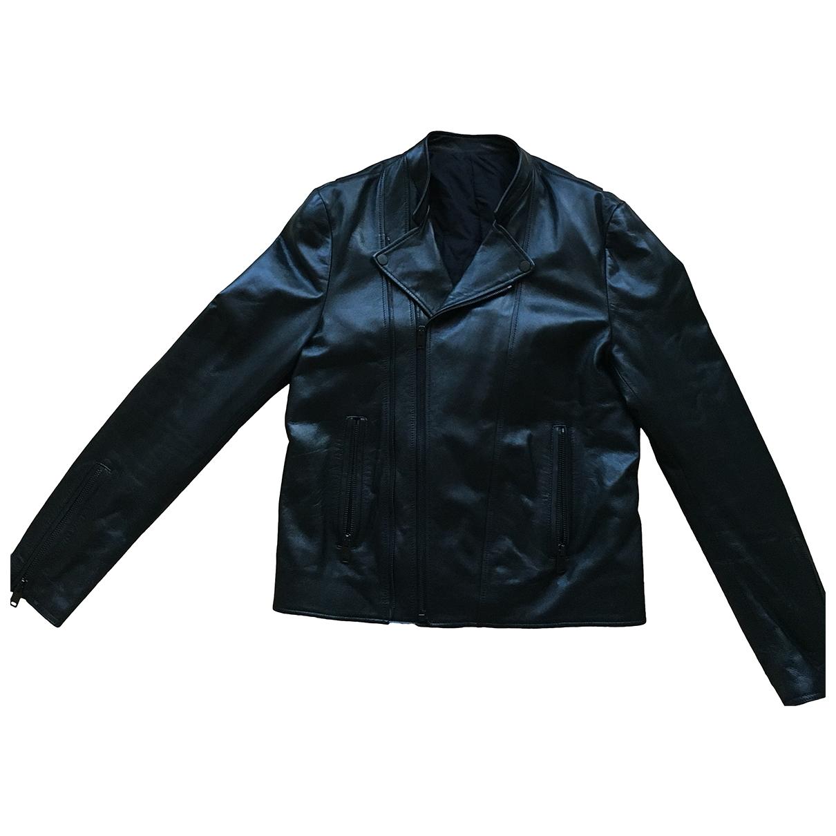 Balenciaga - Vestes.Blousons   pour homme en cuir - noir