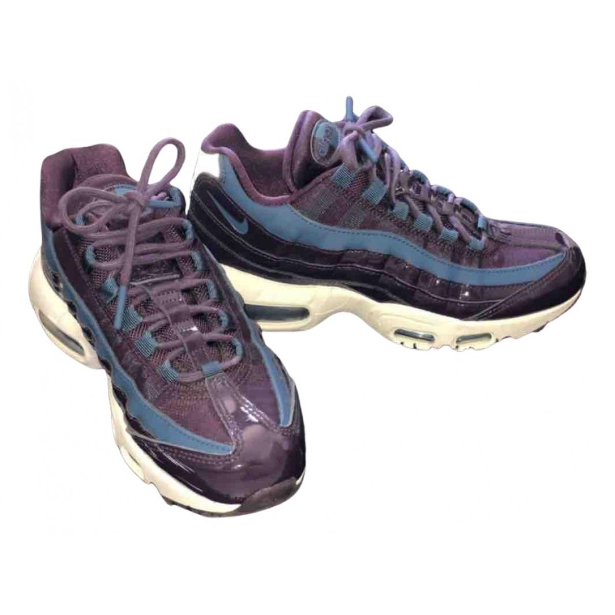 Nike - Baskets Air Max 95 pour femme en toile - violet