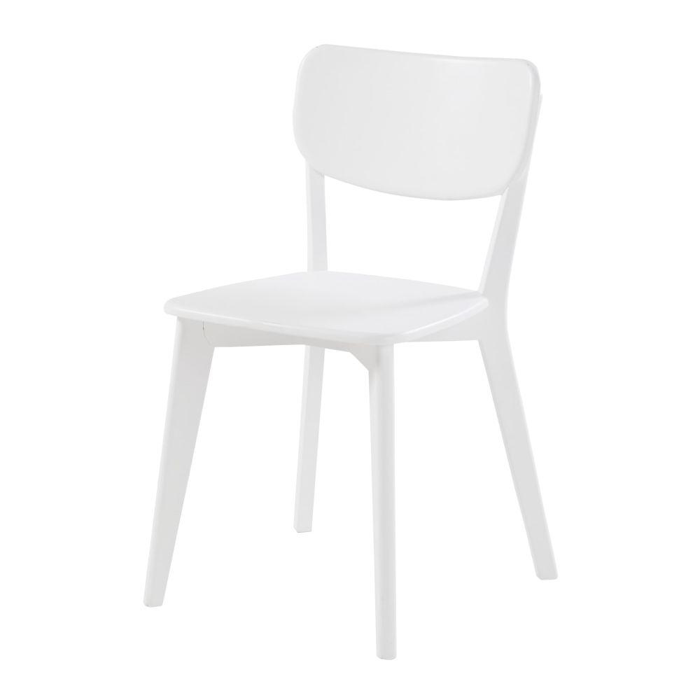 Vintage-Stuhl, weiss Mila