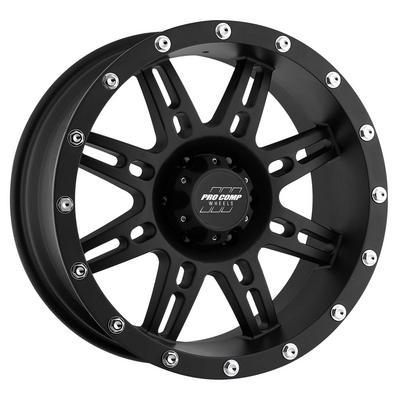 Pro Comp Series 7031, 16x8 Wheel with 6 on 5.5 Bolt Pattern - Flat Black - 7031-6883