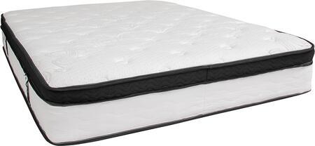 CL-BT33PM-R12M-Q-GG Capri Comfortable Sleep 12 Inch Memory Foam and Pocket Spring Mattress  Queen in a