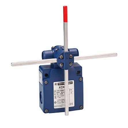 Telemecanique Sensors , Slow Break Limit Switch - (PBT+PC)-GF30 FR, 2 x (1NC/1NO), Stay Put Crossed Rods Lever Metal,