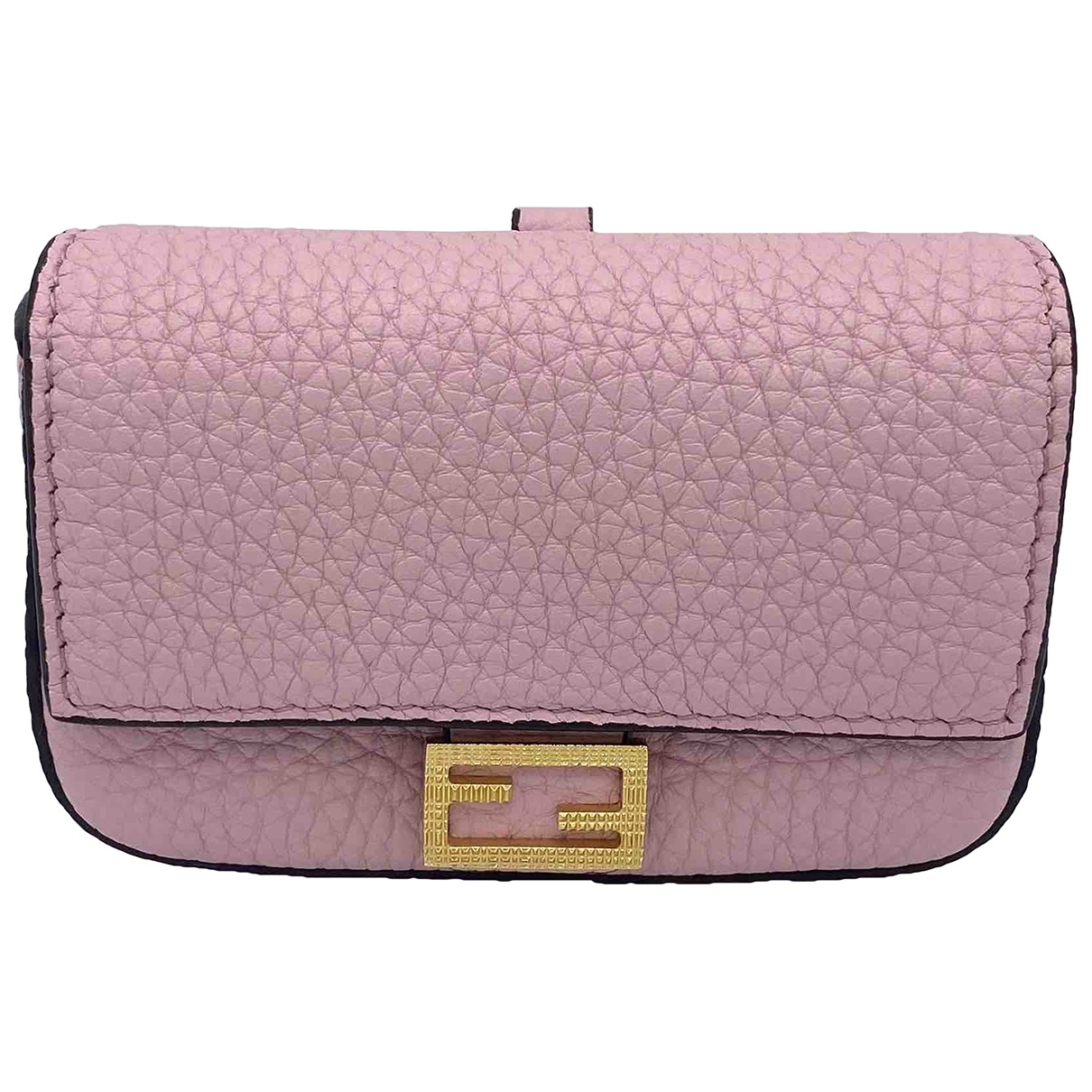 Fendi N Pink Leather Purses, wallet & cases for Women N