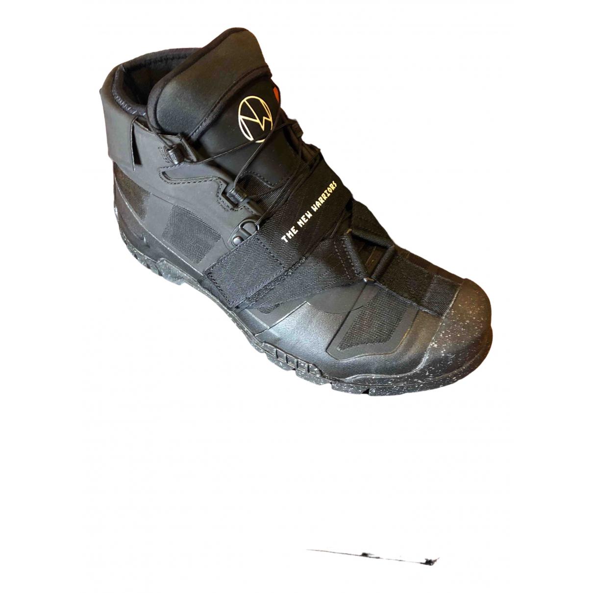 Nike X Undercover \N Sneakers in  Schwarz Leder