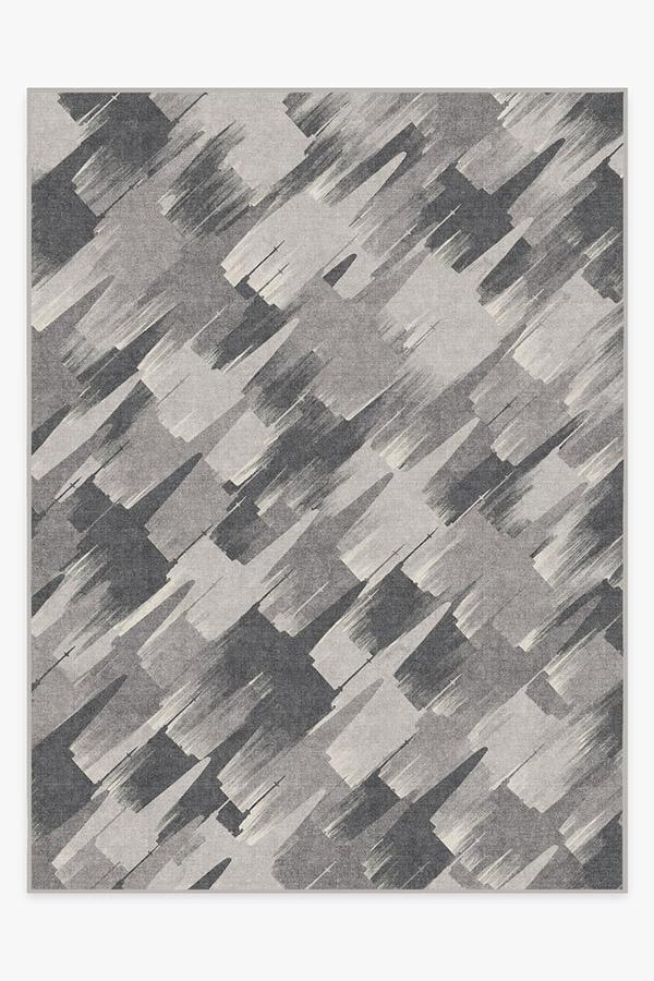 Washable Rug Cover | Rogue Squadron Grey Rug | Stain-Resistant | Ruggable | 9'x12'