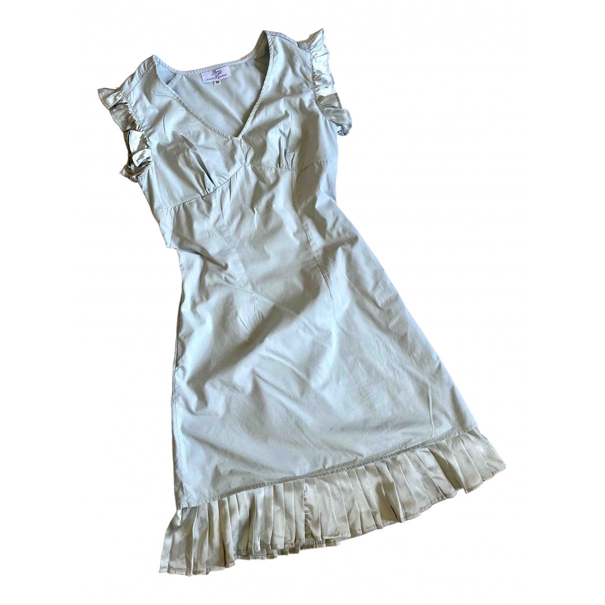 Valentine Gauthier \N Kleid in  Tuerkis Baumwolle