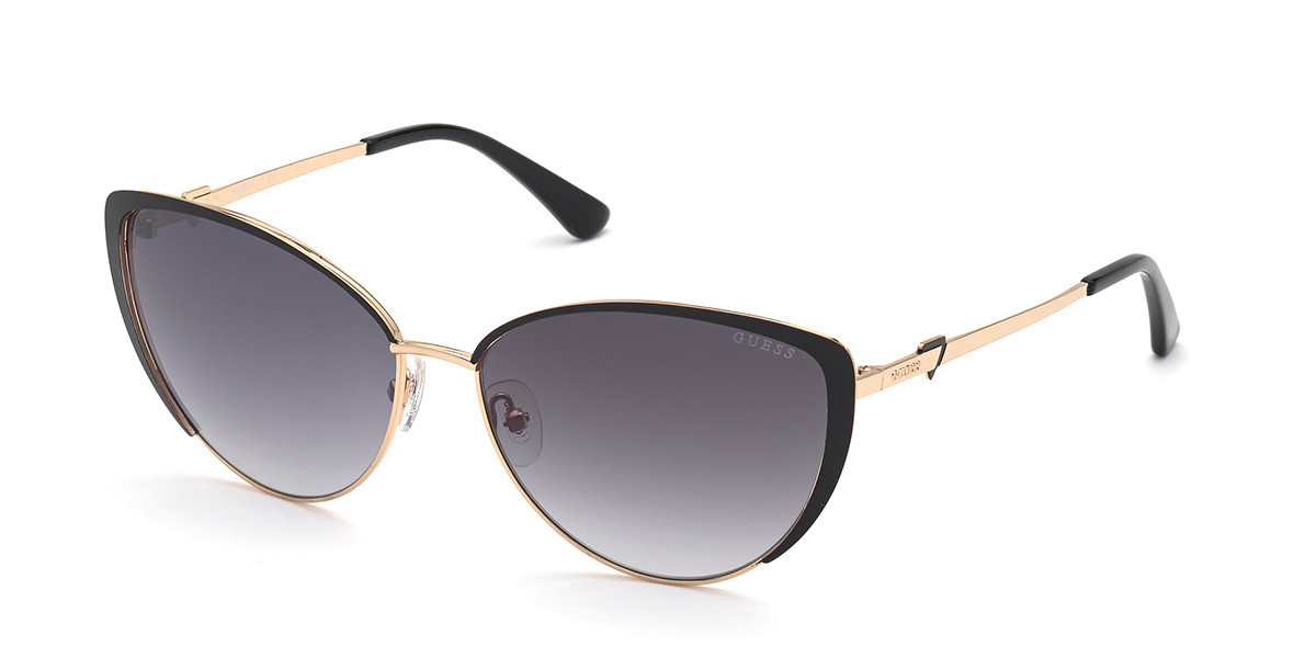Guess GU 7744 01B Women's Sunglasses Black Size 61