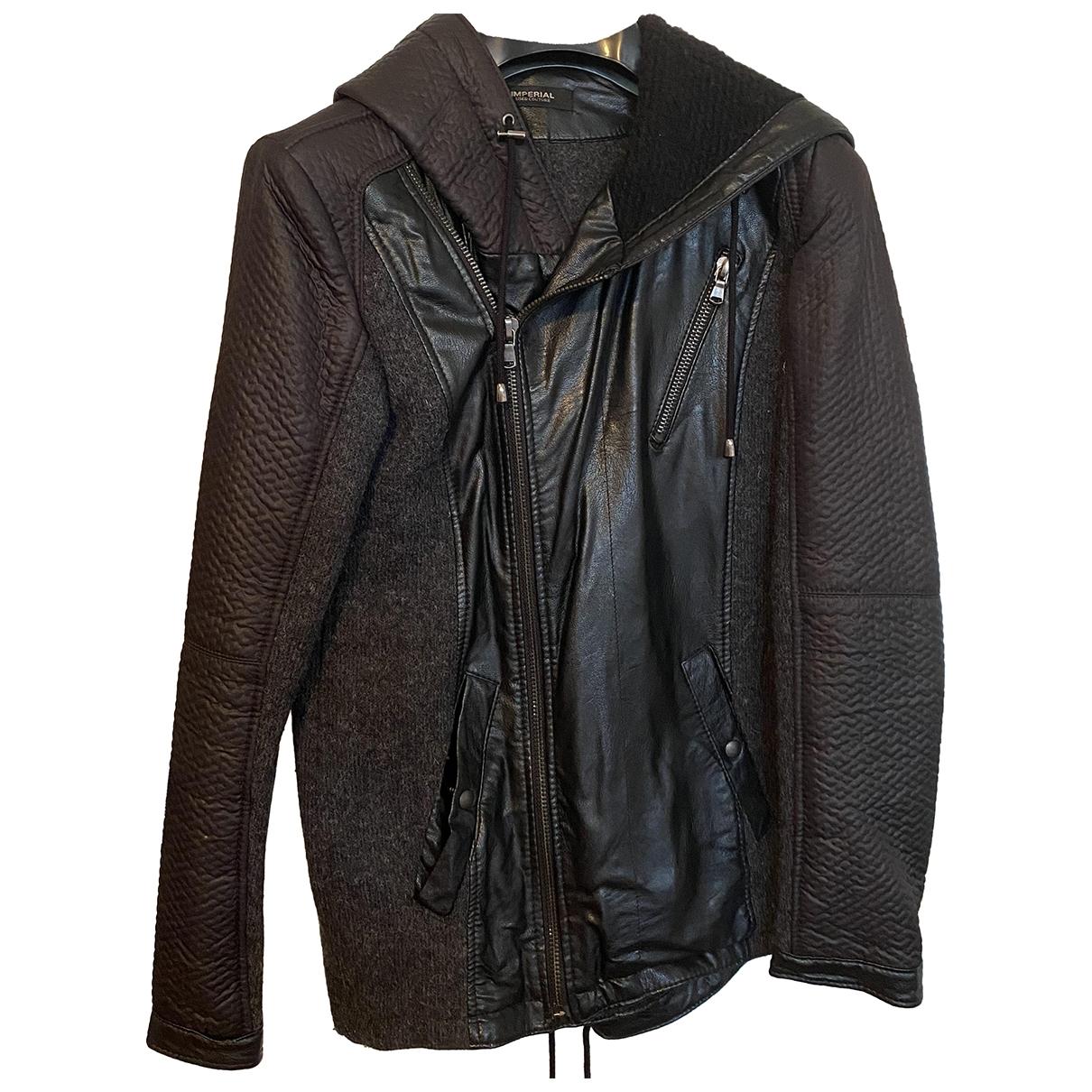 Imperial \N Jacke in  Schwarz Wolle